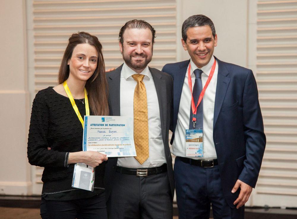 Dr. Román cierra el congreso ortodoncico internacional en Casablanca