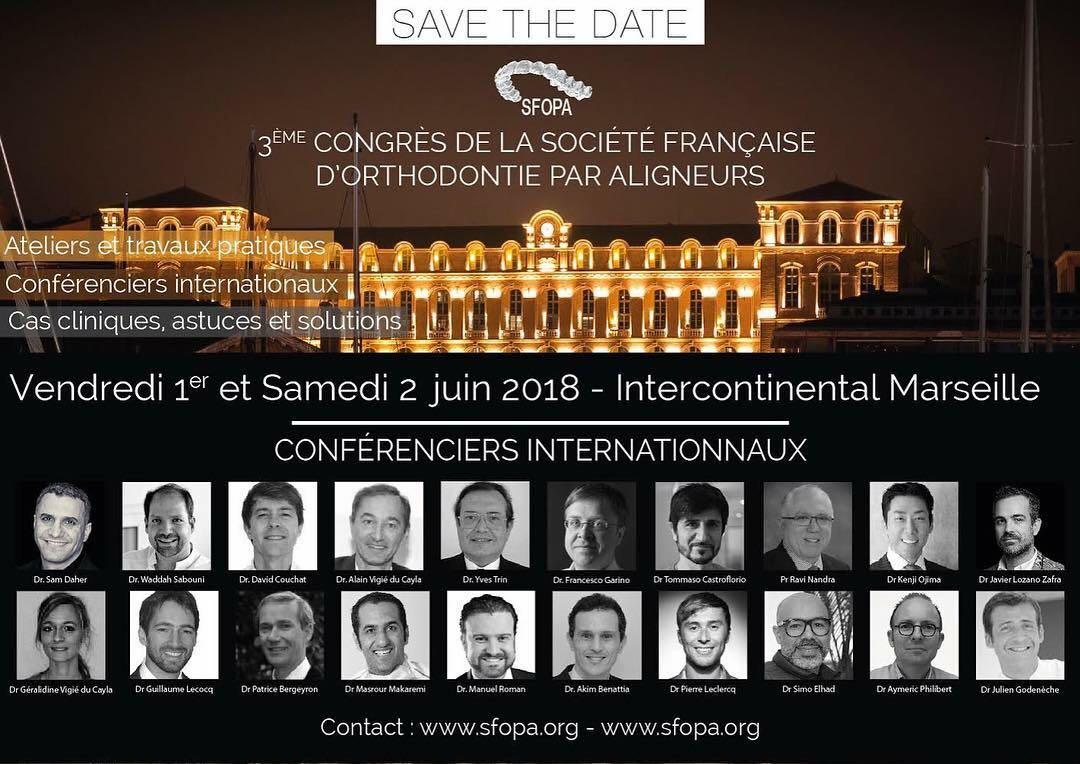 3er Congreso de la Sociedad Francesa de Ortodoncia con Alineadores