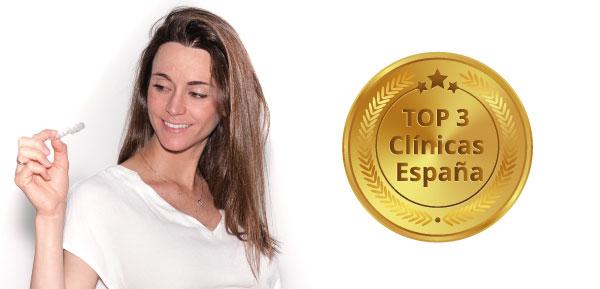 Estamos en el TOP 3 de Clínicas España en Invisalign