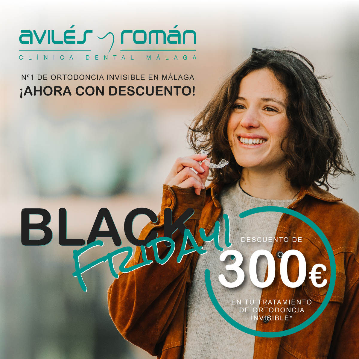 ¡Black Friday en Ortodoncia Invisible!