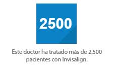 Invisalign 2500 pacientes
