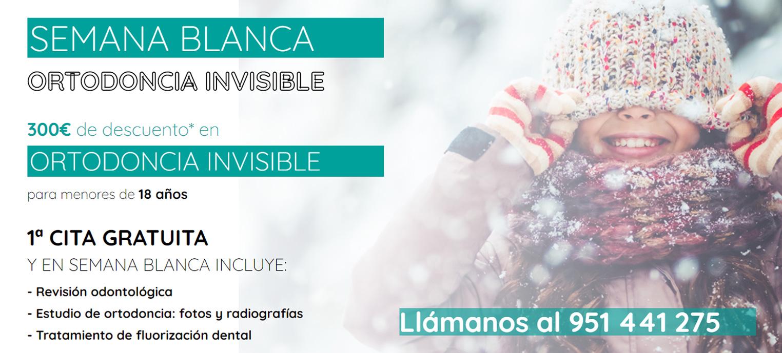 Semana Blanca Ortodoncia Málaga